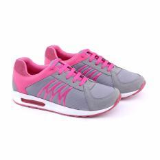Jual Beli Online Garucci Sepatu Running Sport Olahraga Wanita Women Running Sport Shoes Bahan Synth Glt 7239 Pink Comb