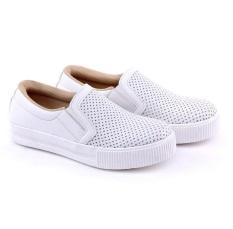 Harga Garucci Sepatu Sneakers Kasual Wanita Gbk 7229 White Yang Murah