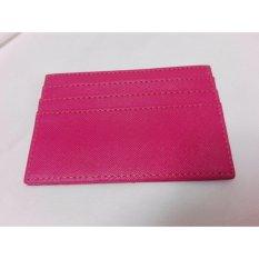 Garuda Card Holder Mini Dompet Kartu Nama  ATM KTP - Pink