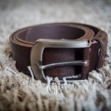 Beli Garut Kulit Casual Belt Dark Brown Nyicil