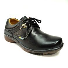 GATS Shoes Sepatu Kulit Pria IB 3002 Hitam