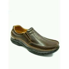 GATS SHOES Sepatu Kulit Pria MP 2605 Brown