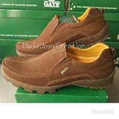 GATS SHOES Sepatu Kulit Pria To 2203 Brown