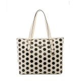 Review Gatsuone Vexia 4 Black White Polkadot Shoulder Bags Terbaru