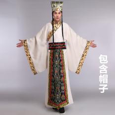 Gaya Amerika Serikat Dan Televisi Drama Baju Pertunjukan Bordir Pakaian Adat Tiongkok (Warna Kuning Muda [Mengandung Topi])