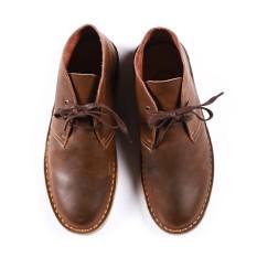Gaya Jepang Selatan Musim Semi Sepatu Boots Pria Dr. Martens (Brown)