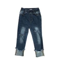 Gaya Korea dari Musim Semi atau Gugur Bayi Baru Denim Jaket Denim Jaket Jaket Jaket Jaket (Celana Jeans Celana jeans)
