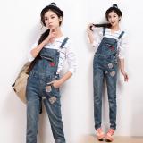 Beli Korea Fashion Style Musim Semi Dan Musim Panas Jumpsuit Biru Baju Wanita Celana Wanita Celana Jeans Wanita