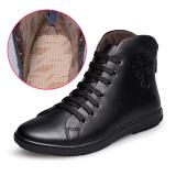 Review Toko Gaya Korea Dari Tinggi Atas Sepatu Ukuran Besar Musim Gugur Pria Sepatu Sepatu Kasual Sepatu Hitam Sepatu