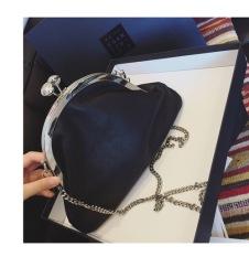 Review Toko Gaya Korea Fashion Style Baru Retro Tas Selempang Hitam Besar Online