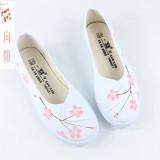 Jual Beli Gaya Kuno Retro Flat Shoes Sepatu Wanita Sepatu Kanvas Datar Harapan Musim Semi Bedak Sepatu Wanita Sepatu Sport Sepatu Sneakers Wanita Baru Tiongkok