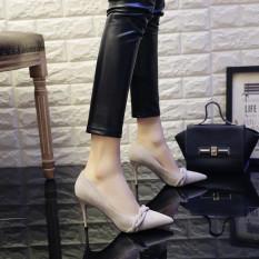 Jual Gaya Retro Mata Pria Musim Semi Wanita Sepatu Abu Abu Import