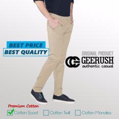 Beli Gc Celana Chino Slim Fit Cream Indonesia