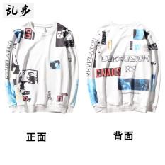 Beli Gd T Shirt Musim Gugur Pria Kaos Sweater 3D Korea Fashion Style Katun Ruang 802Qzl Sweater Putih Baju Atasan Kaos Pria Kemeja Pria Lengkap