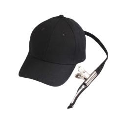 GD Sama Bisbol Gaya PEACEMINUSONE Fashion Adjustable Hip Hop Kapas dengan Klip (Hitam)-Intl