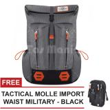 Harga Tas Ransel Gear Bag Mount Everest Adventure Tas Laptop Backpack Dark Shadow Free Tas Selempang Tactical Molle Import Waist Military Black Tas Pria Tas Gunung Tas Messenger Tas Slempang Tas Fashion Pria Fullset Murah