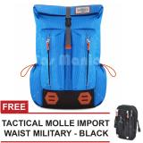 Toko Tas Ransel Gear Bag Mount Everest Adventure Tas Laptop Backpack Ocean Breeze Free Tas Selempang Tactical Molle Import Waist Military Black Tas Pria Tas Gunung Tas Messenger Tas Slempang Tas Fashion Pria Gear Bag