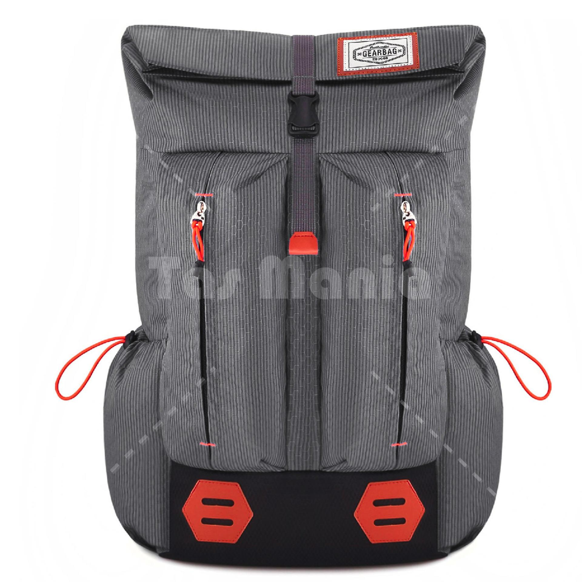 Harga Diskon Tas Ransel Gear Bag Mount Everest Adventure Outdoor Pria Wanita Laptop Backpack Dark Shadow