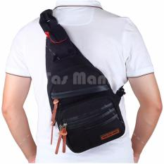 Tas Selempang Gear Bag Slingbag Army Air Force - Black Tas Pria Tas Messenger Tas Slempang Crossbody Man Tas Fashion Pria