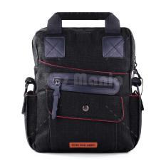 Spesifikasi Tas Selempang Gear Bag Delta Force D 077 Black Tas Pria Tas Bahu Tas Messenger Tas Slempang Crossbody Man Tas Fashion Pria Terbaru
