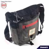 Promo Gear Bag Tas Selempang Distro Slingbag 13056 Abu Abu Gearbag