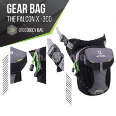 Tas Selempang Gear Bag - The Falcon X-300 -The Future Eyes - Grey Tas Pria Tas Messenger Tas Slempang Tas Fashion Pria