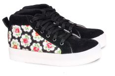 Harga Geearsy Sny 6079 H Sepatu Sneaker Wanita Canvas Keren Hitam Original