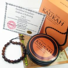 Gelang Kaukah Kokka Cutting Diamond - Coklat