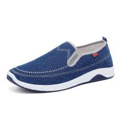 Toko Inggris Mudah Dipakai Sepatu Baru Sepatu Kanvas 16 03 Biru Muda Di Tiongkok