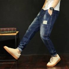 Gemuk Musim Gugur Elastisitas Tinggi Lee Jeans Musim Semi Celana Pakaian Pria Jeans (535 Biru Gelap Elastisitas Tinggi Musim gugur Celana Panjang)