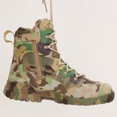Spesifikasi Kulit Asli Army Boots Mens Militer Desert Boot Sepatu Pria Musim Gugur Breathable Boot Ankle Boots Hijau Intl Yg Baik