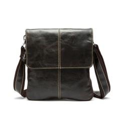 Toko Kulit Asli Pria Kasual Crossbody Bahu Messenger Bag Satchel Handbag Intl Online Tiongkok