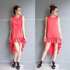 Grateful Dress Dewi - Merah - Best Seller - Harga Grosir