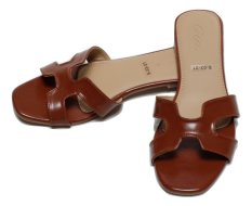 GIA Heiress Sandals - Brown