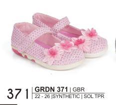 Giardino Grdn 371 Sepatu Bayi Casual Perempuan Bahan Syntethic - Sol Tpr/Anti Slip - Hak 2 Cm Lucu Dan Imut ( Pink )
