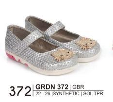 Giardino Grdn 372 Sepatu Bayi Casual Perempuan Bahan Syntethic - Sol Tpr/Anti Slip - Hak 2 Cm Lucu Dan Imut ( Silver )