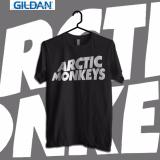 Jual Gildan Custom Tshirt Arctic Monkeys Black Logo Import