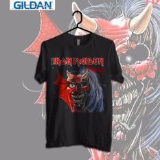 Spesifikasi Gildan Custom Tshirt Iron Maiden Pulgatory Online