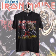 Gildan Custom Tshirt Iron Maiden The Number Of The Beast