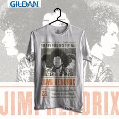 Diskon Produk Gildan Custom Tshirt Jimi Hendrix The New York Rock Festival