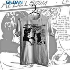 Katalog Gildan Custom Tshirt Rebel Scum Gildan Terbaru