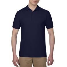 Promo Gildan Polo Sport Shirt 73800 Original Navy Gildan Terbaru