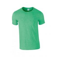 Gildan Premium Cotton 76000 Kaos Polos - Heather Irish Green