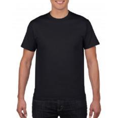 Harga Gildan Premium Cotton 76000 Kaos Polos Original Black Termahal