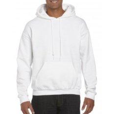 Gildan Sweater 88500 Hoodie Fleece Original White Diskon Jawa Barat
