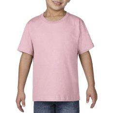 Gildan Youth Premium Cotton 76000B Kaos Polos Original [Light Pink]
