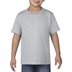 Harga Gildan Youth Premium Cotton 76000B Kaos Polos Original Sport Grey New