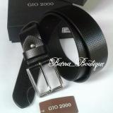 Jual Gio 2000 Ikat Pinggang Kulit Belt G S 092 40 Black Original Online Di Dki Jakarta