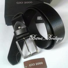 GIO 2000-ikat pinggang kulit BELT G-S.092/40 BLACK ORIGINAL