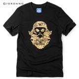 Beli Giordano Bsx Pria Von Printed Cotton Tee 04097239 Hitam Internasional Online Murah